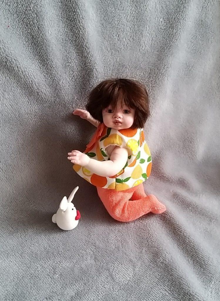 Polymer clay dolls miniature by Kovalevadoll 06
