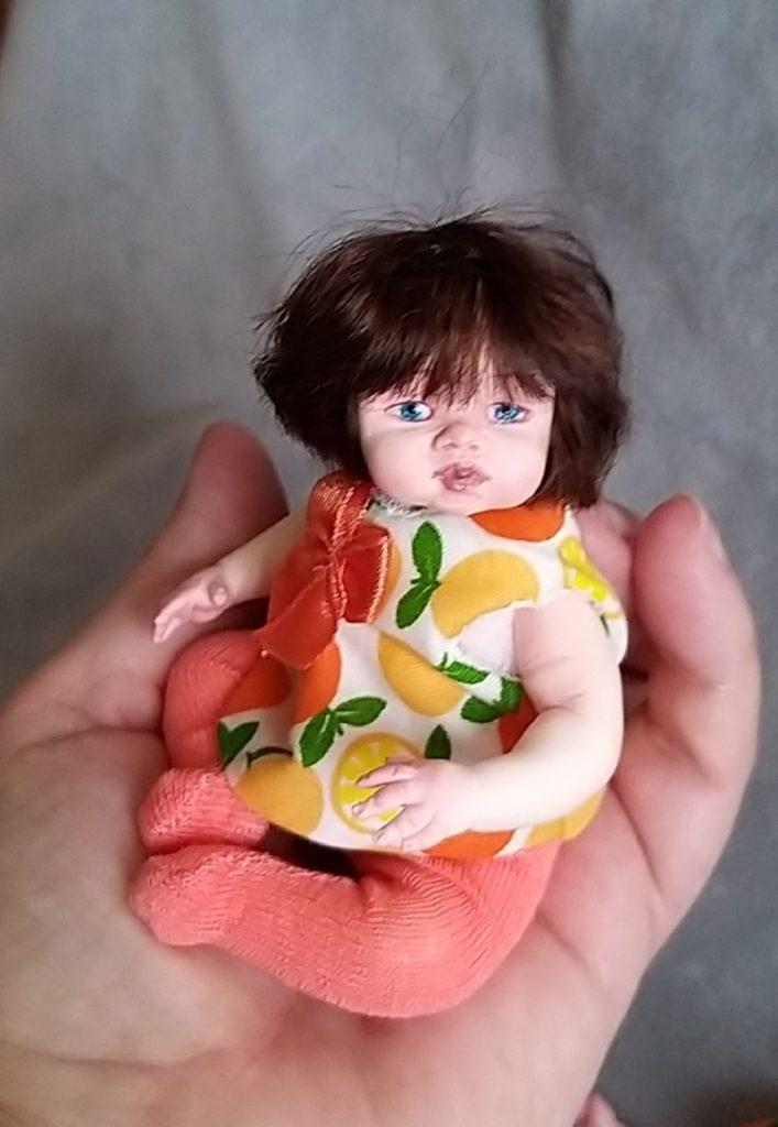Polymer clay dolls miniature by Kovalevadoll 07
