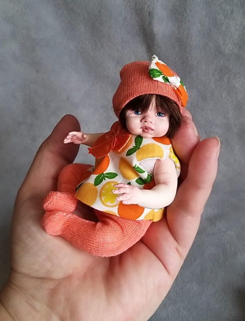 Polymer clay dolls miniature by Kovalevadoll 08