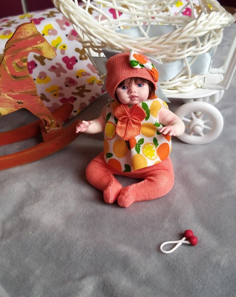 Polymer clay dolls miniature by Kovalevadoll 09
