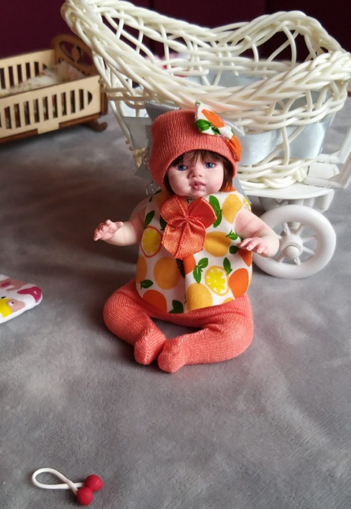 Polymer clay dolls miniature by Kovalevadoll 10