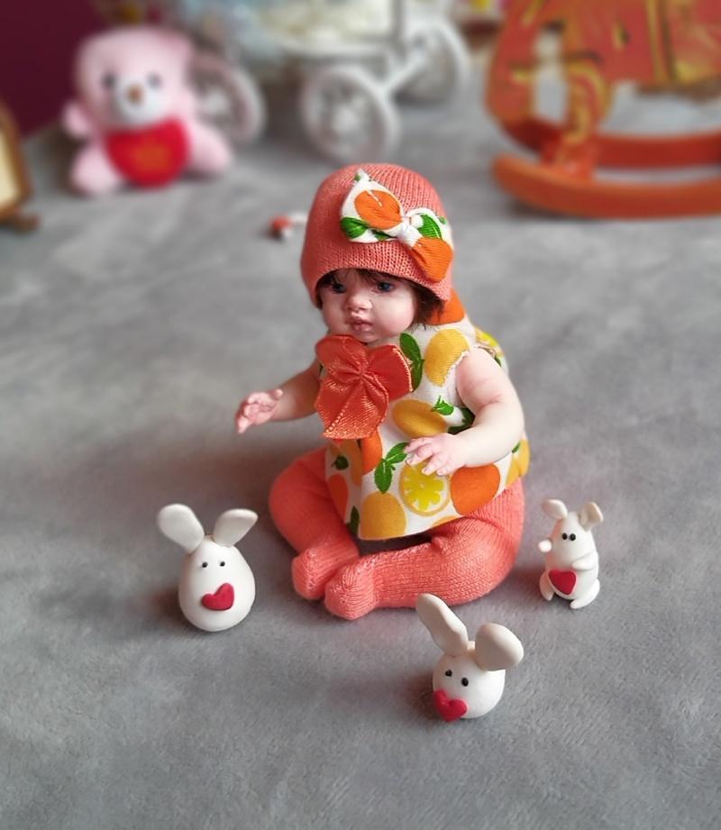 Polymer clay dolls miniature by Kovalevadoll 15