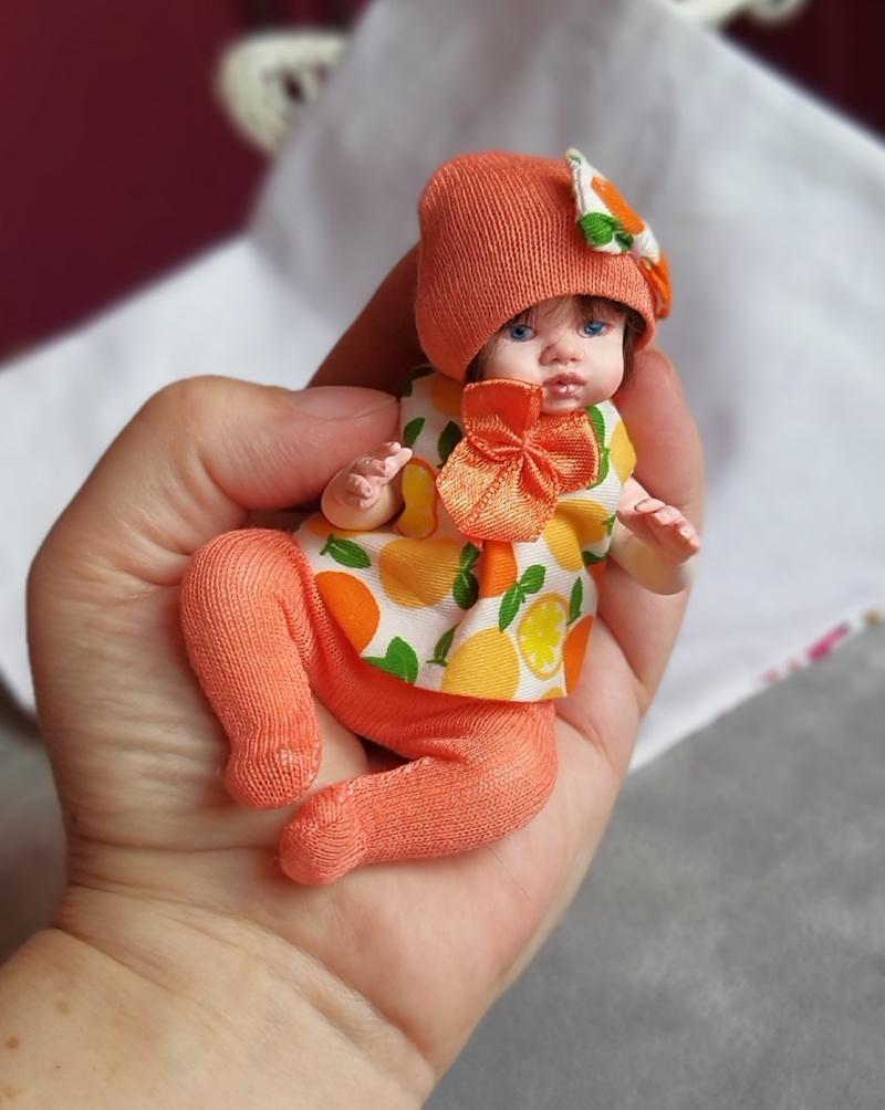 Polymer clay dolls miniature by Kovalevadoll 17