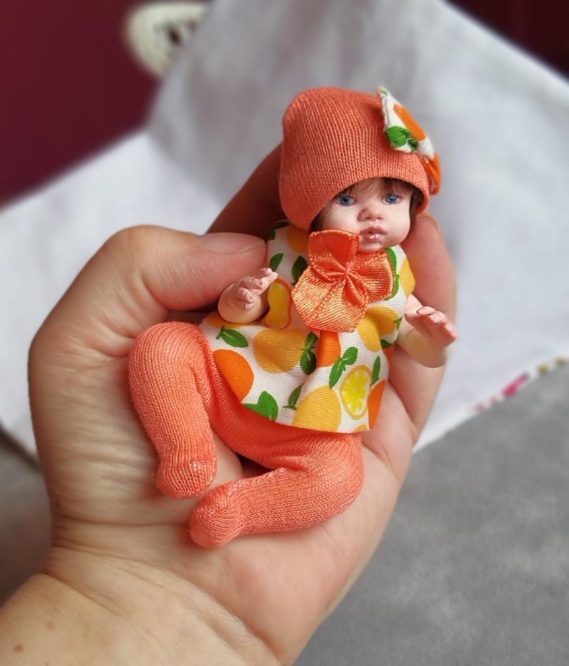 Polymer clay dolls miniature by Kovalevadoll 18