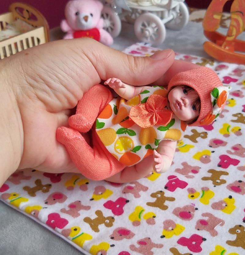 Polymer clay dolls miniature by Kovalevadoll 20