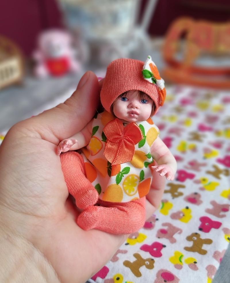 Polymer clay dolls miniature by Kovalevadoll 21