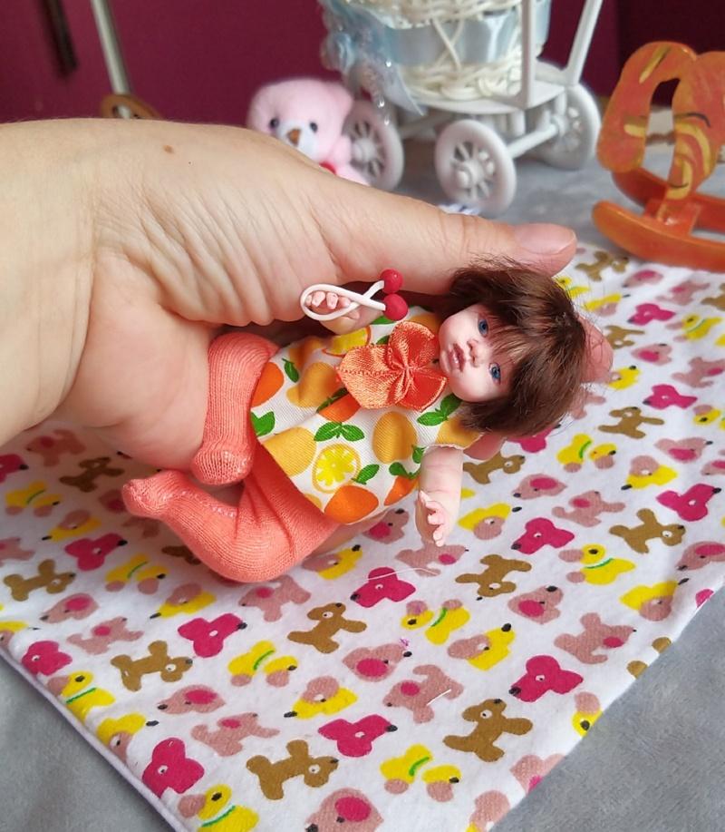 Polymer clay dolls miniature by Kovalevadoll 22