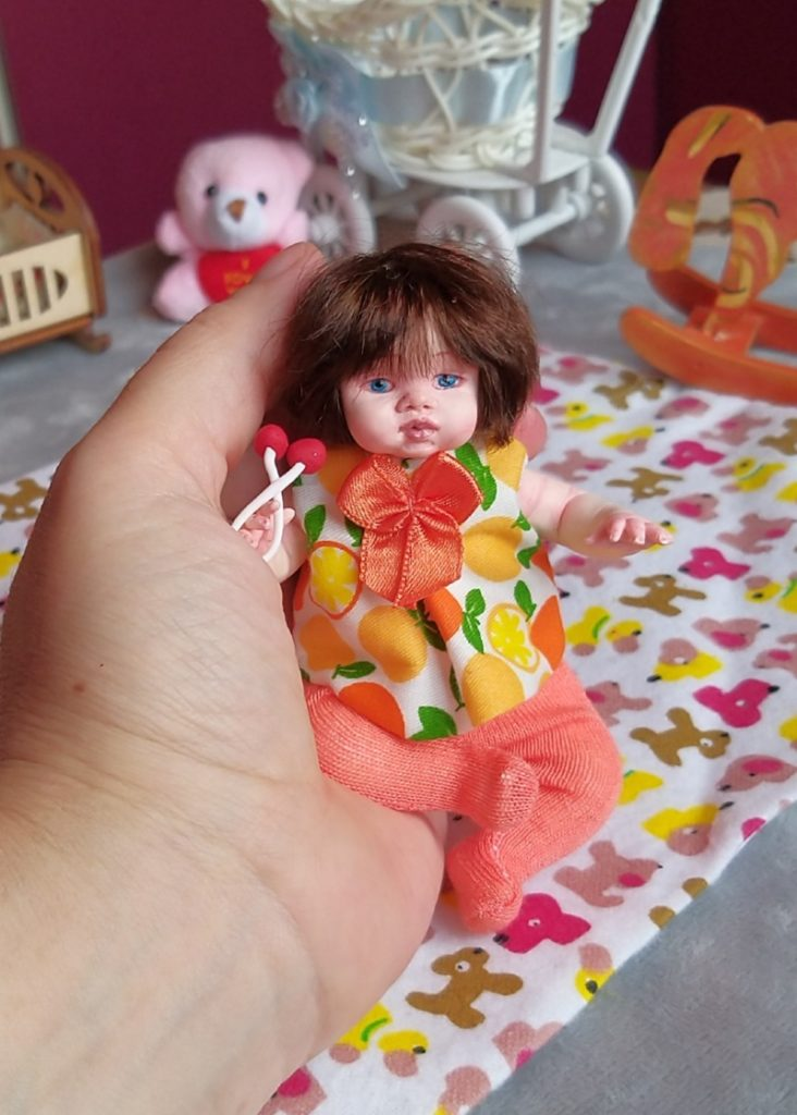 Polymer clay dolls miniature by Kovalevadoll 23