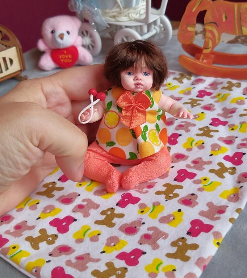 Polymer clay dolls miniature by Kovalevadoll 25