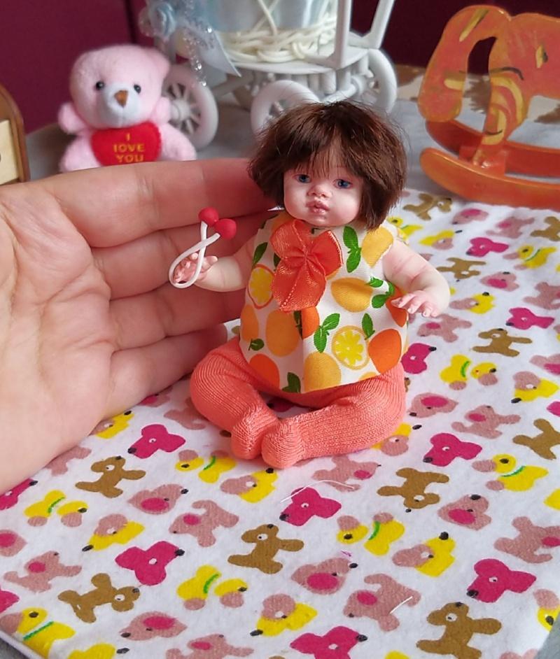 Polymer clay dolls miniature by Kovalevadoll 26