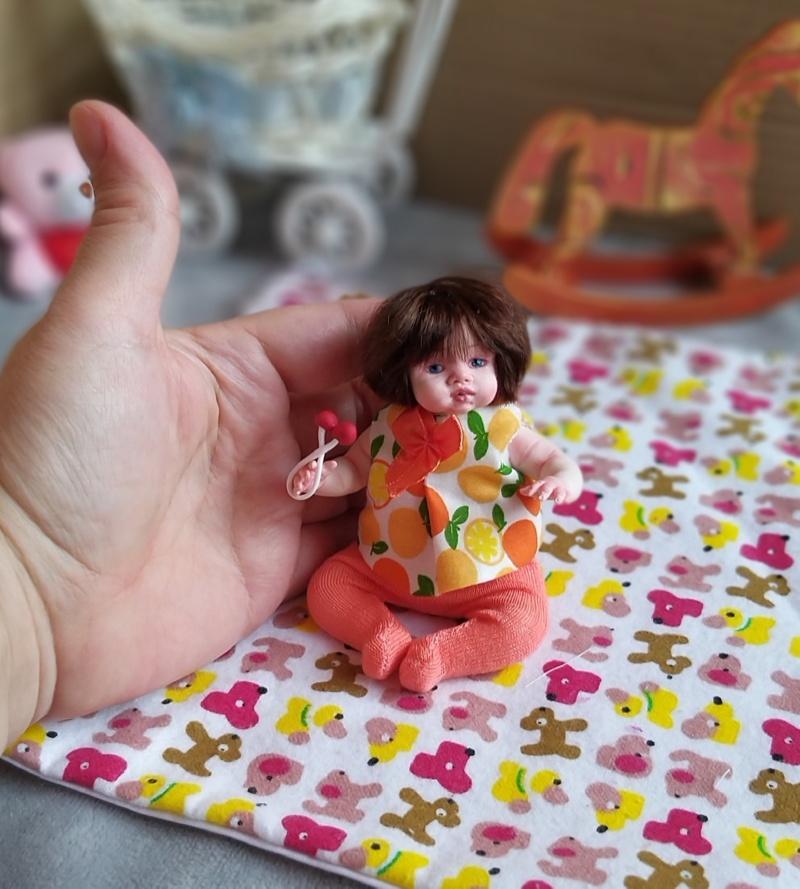 Polymer clay dolls miniature by Kovalevadoll 29