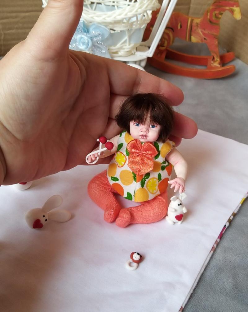 Polymer clay dolls miniature by Kovalevadoll 31