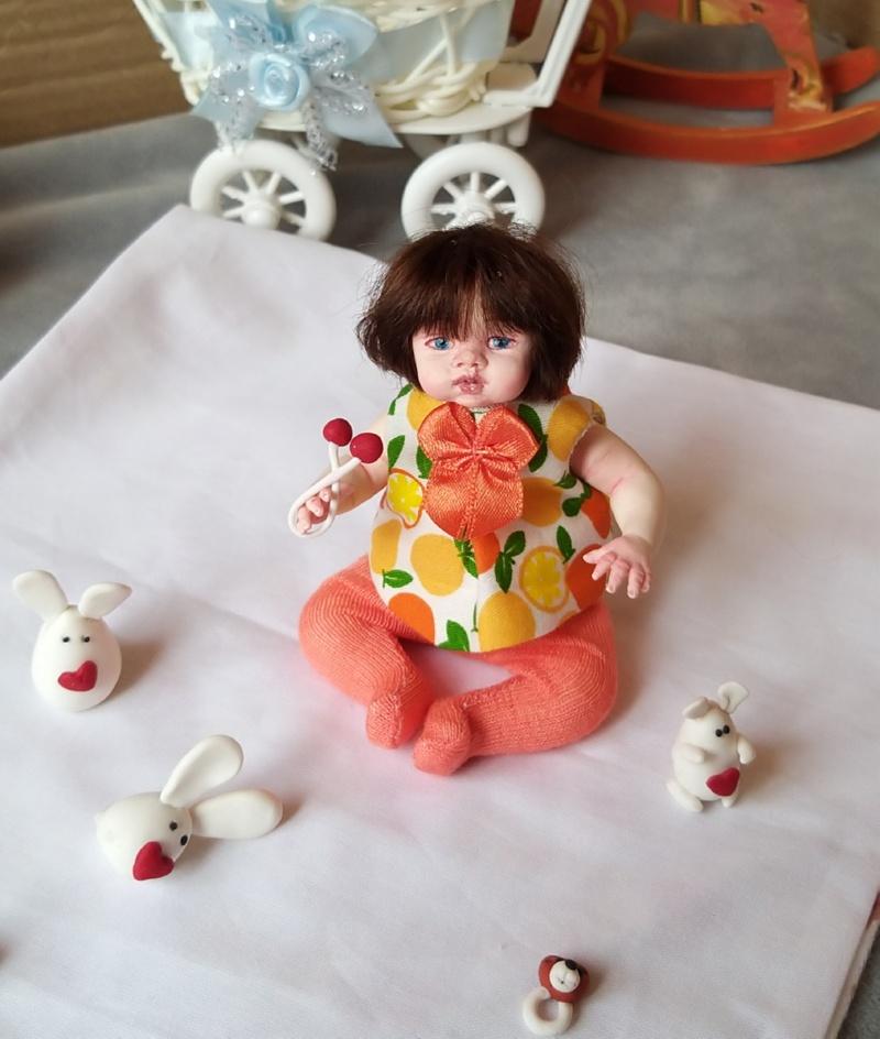 Polymer clay dolls miniature by Kovalevadoll 32
