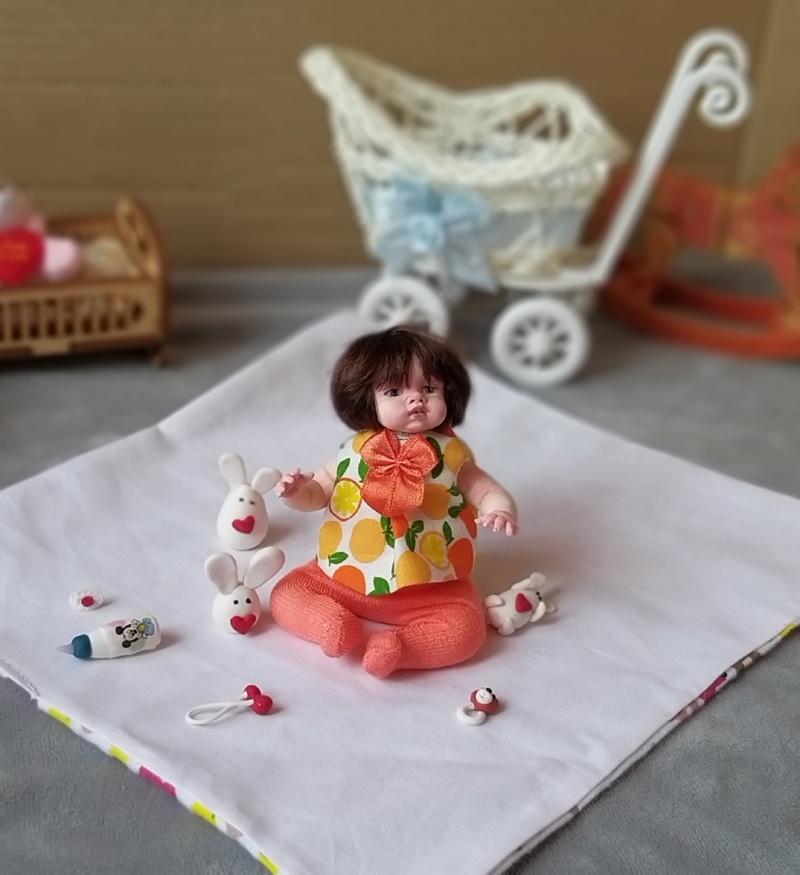 Polymer clay dolls miniature by Kovalevadoll 33