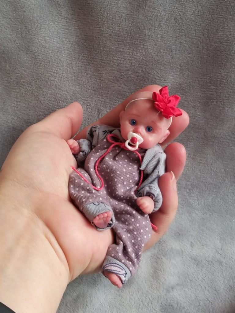 solid silicone baby dolls for sale by Kovalevadoll 03