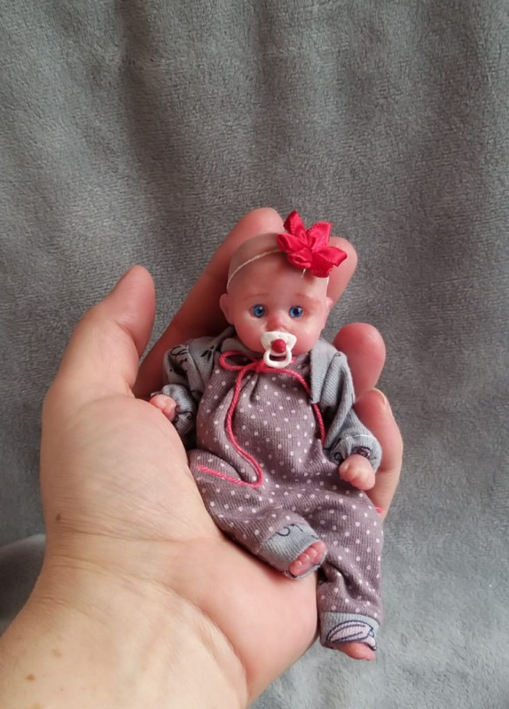 solid silicone baby dolls for sale by Kovalevadoll 04