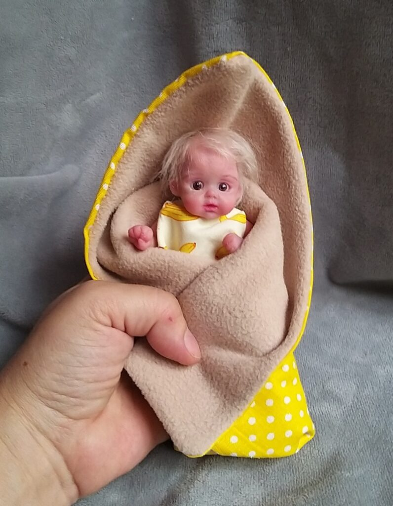 Silicone baby doll artists Kovalevadoll07
