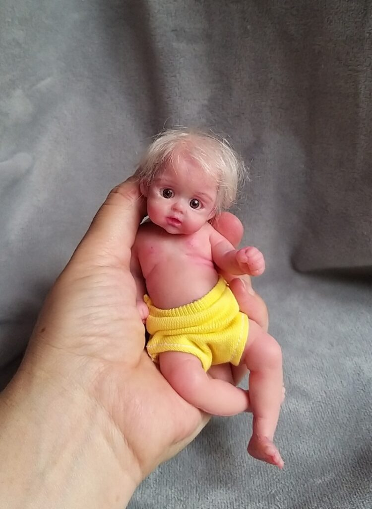 Silicone baby doll artists Kovalevadoll11