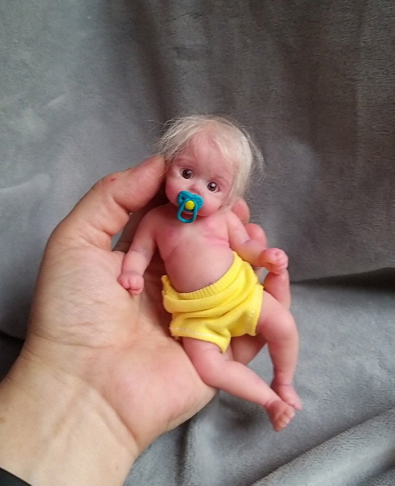 Silicone baby doll artists Kovalevadoll13