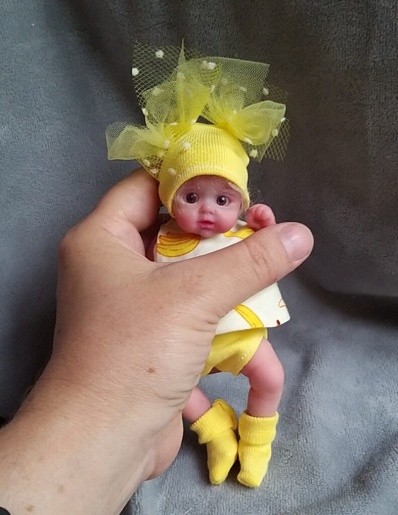 Silicone baby doll artists Kovalevadoll17