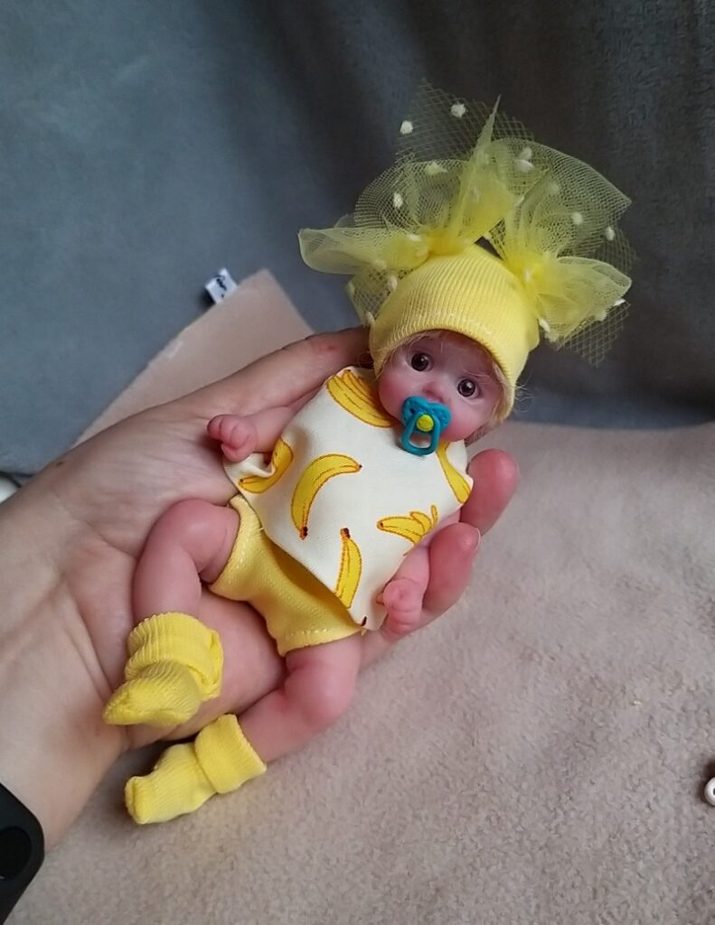 Silicone baby doll artists Kovalevadoll21