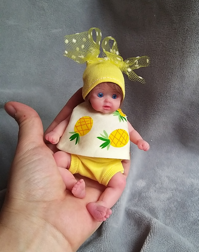 small silicone baby Kovalevadoll00