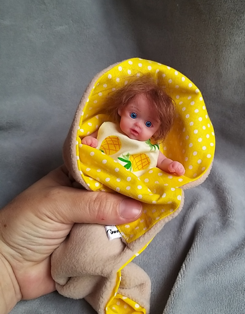 small silicone baby Kovalevadoll06