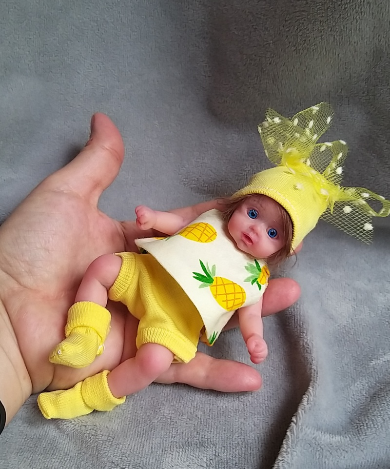 small silicone baby Kovalevadoll07