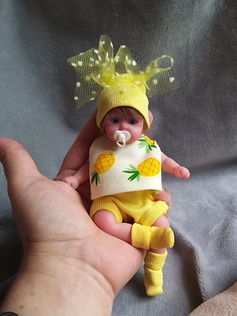 small silicone baby Kovalevadoll08
