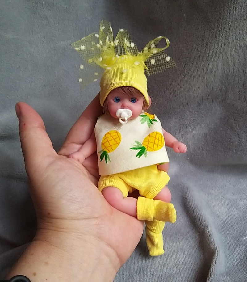 small silicone baby Kovalevadoll09