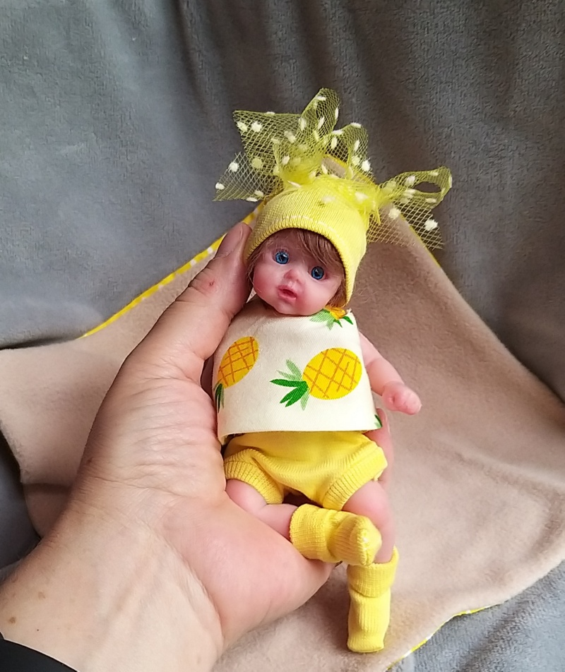 small silicone baby Kovalevadoll12