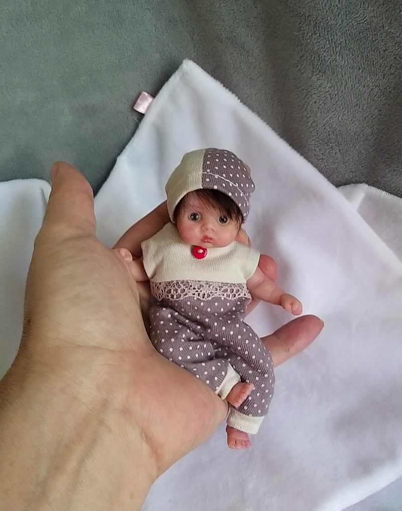 mini silicone baby doll girl