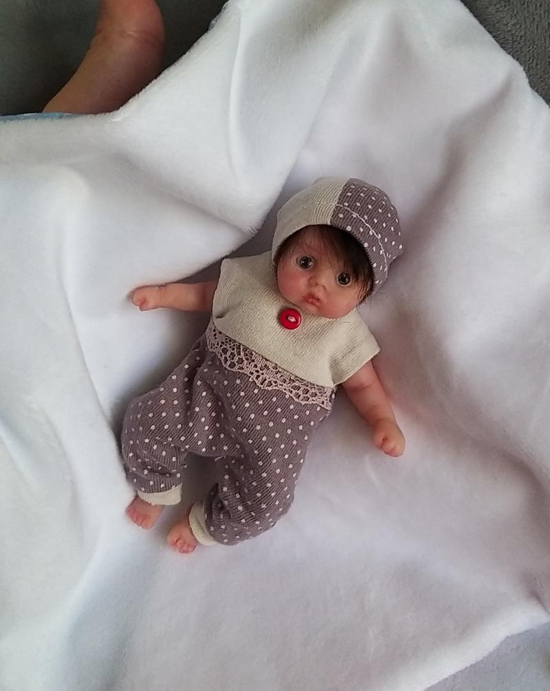 clothes for mini silicone dolls