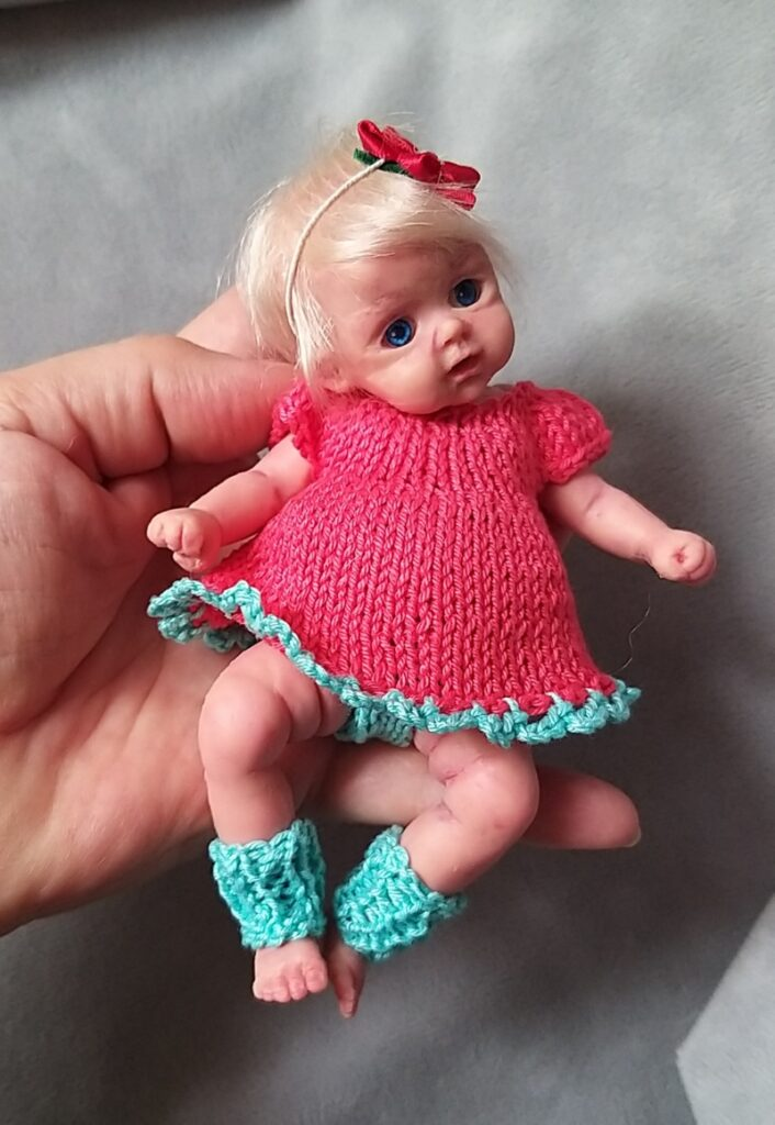 silicone tiny baby 6 inch