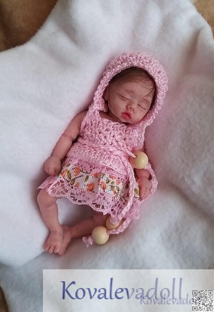 5 inch hyper realistic baby dolls for sale 5 inch Petal Kovaleva Natalya14