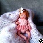 platinum silicone miniature baby 5 inch Petal Kovaleva Natalya04