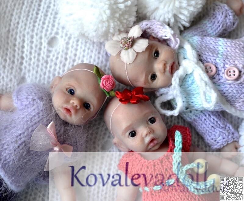 little tiny silicone babies by Kovaleva Natalya