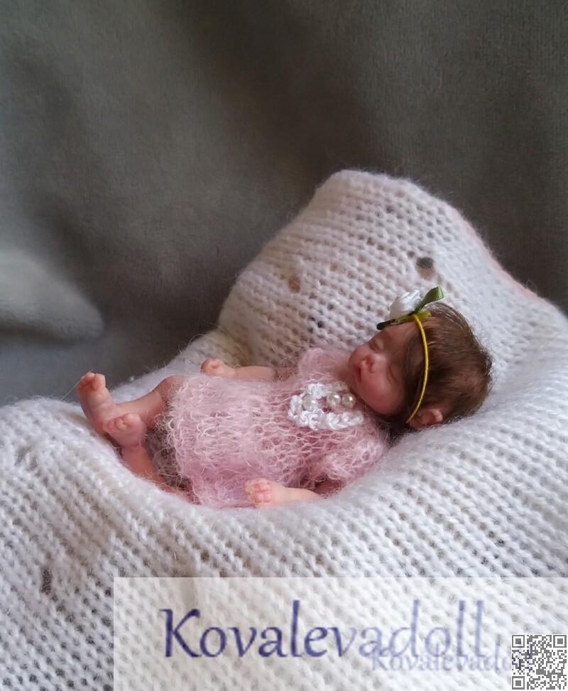 exclusive mini silicone reborn by Kovaleva Natalya07