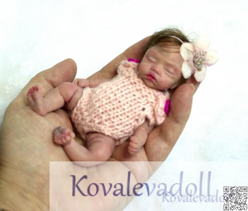 tiny silicone baby 5 inch website silicone babies by Kovalevadoll Kovaleva Natalya